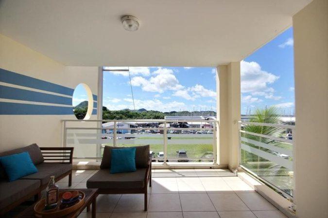 Location appartement vue mer Le Marin Martinique