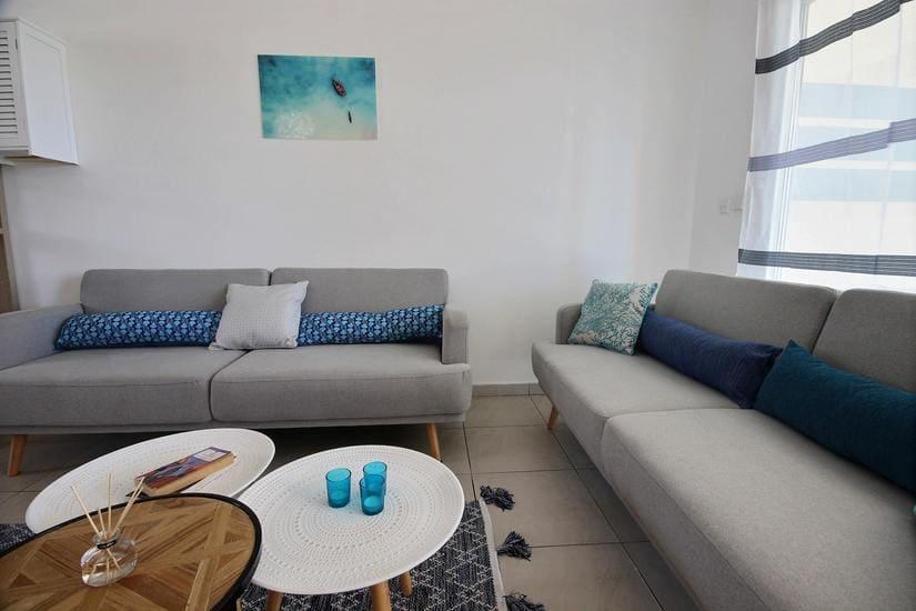 Appartement l oceane salon canapés