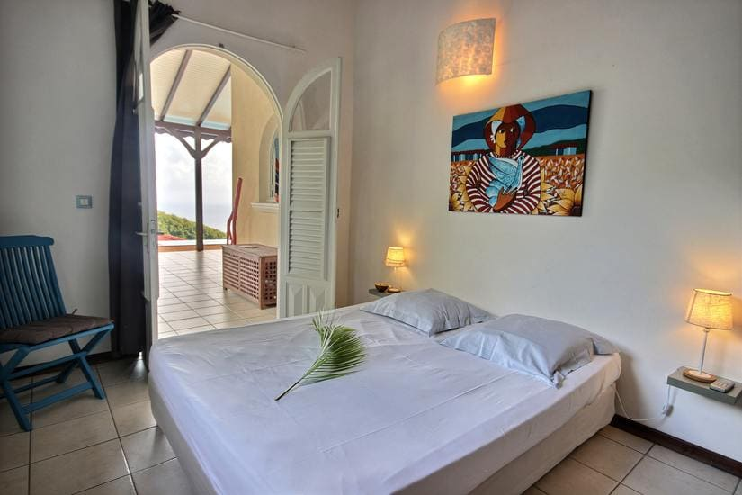 martinique villa palmier rouge chambre 1