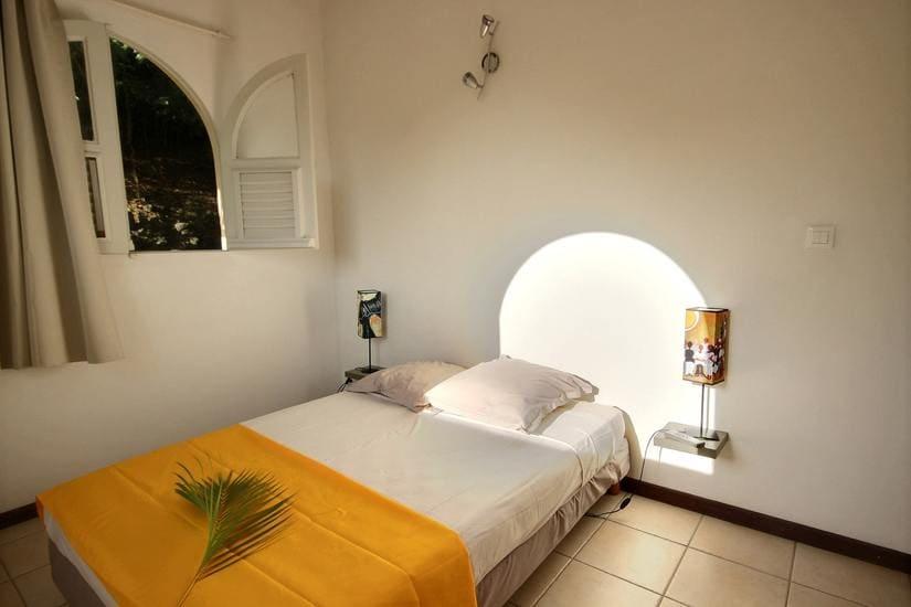 martinique villa palmier rouge chambre 2
