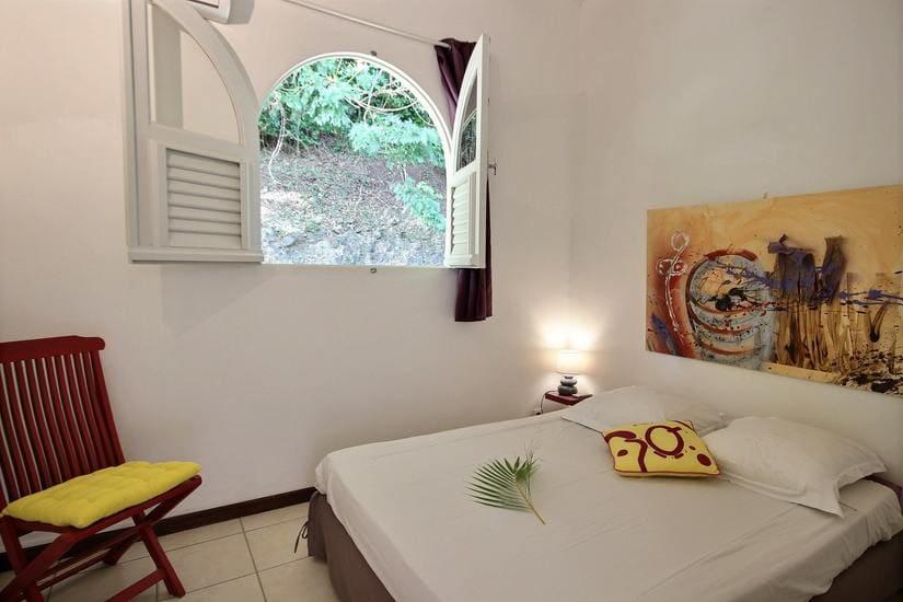 martinique villa palmier rouge chambre 3
