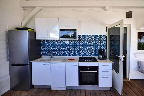 bungalow tartane ti turquoise cuisine
