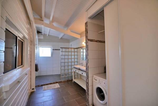 bungalow tartane ti turquoise salle d eau