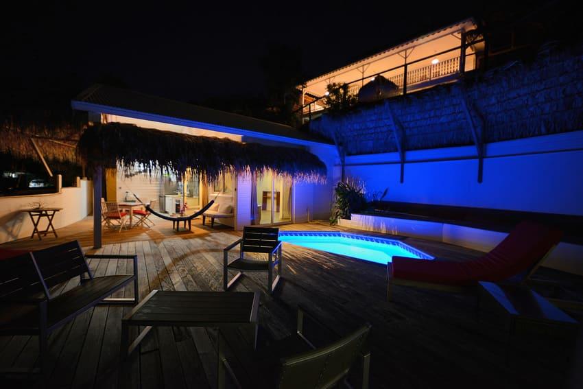 Ti Turquoise Salon Lit Nuit Maison