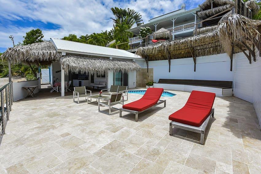Ti Turquoise Terrasse Bungalow Tartane Martinique