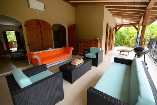 Location Villa Lagoon Salon Terrasse