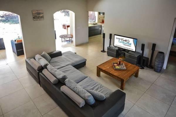 Location Villa Lagoon Salon Tv