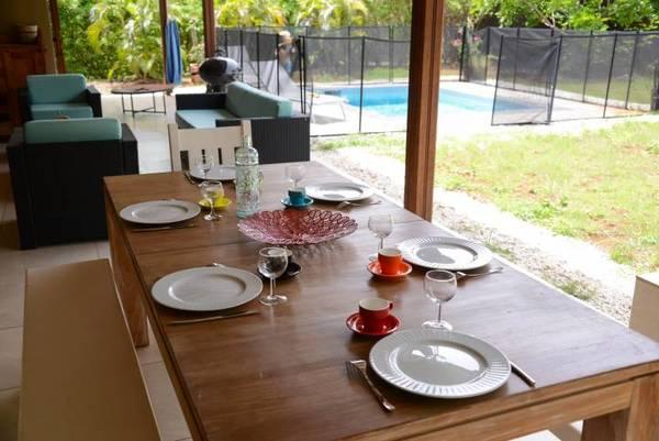 Location Villa Lagoon Table Terrasse