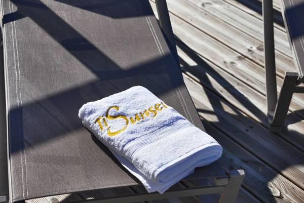 ti sunset serviettes