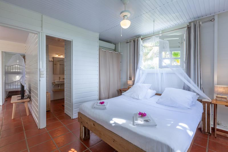 Chambre 1 Villa Vue Sauvage Martinique