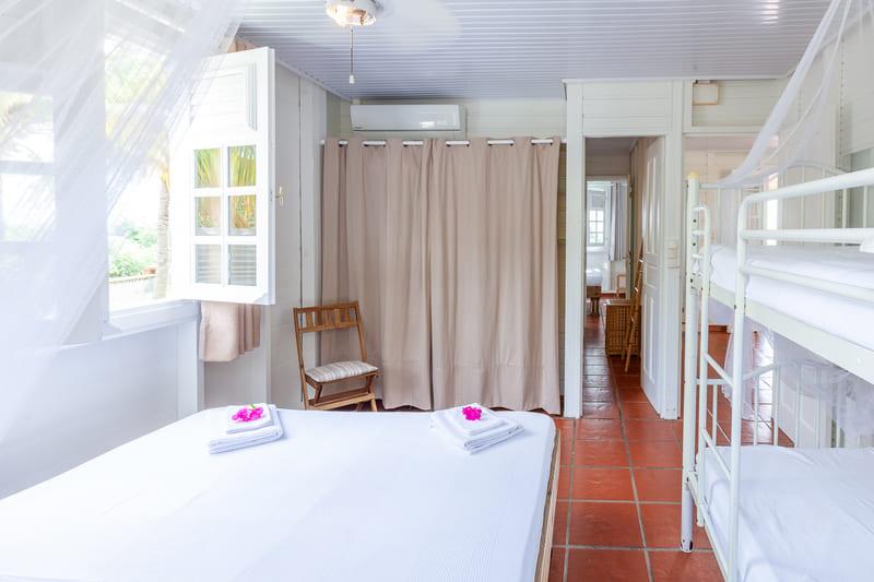Chambre 2 Villa Vue Sauvage Martinique