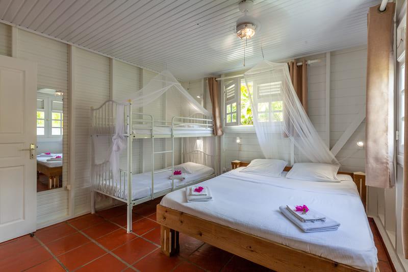 Chambre 2 Villa Vue Sauvage