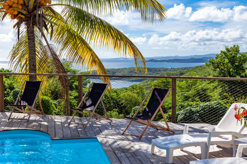 Location Caravelle Villa Vue Sauvage Martinique