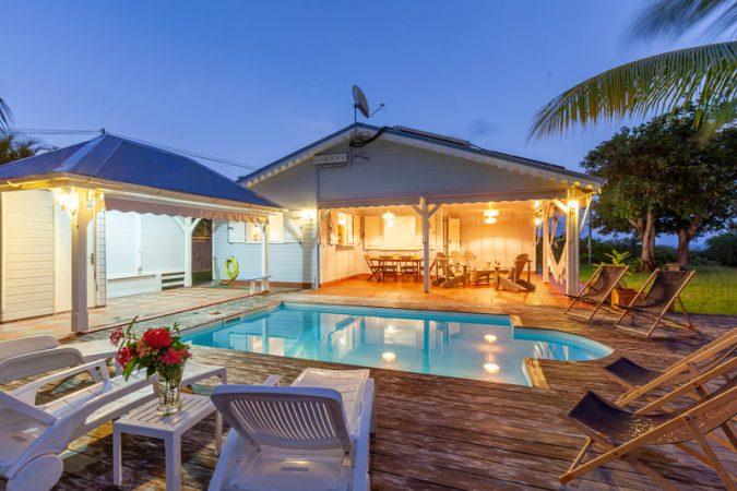 Location Villa Vue Sauvage Martinique