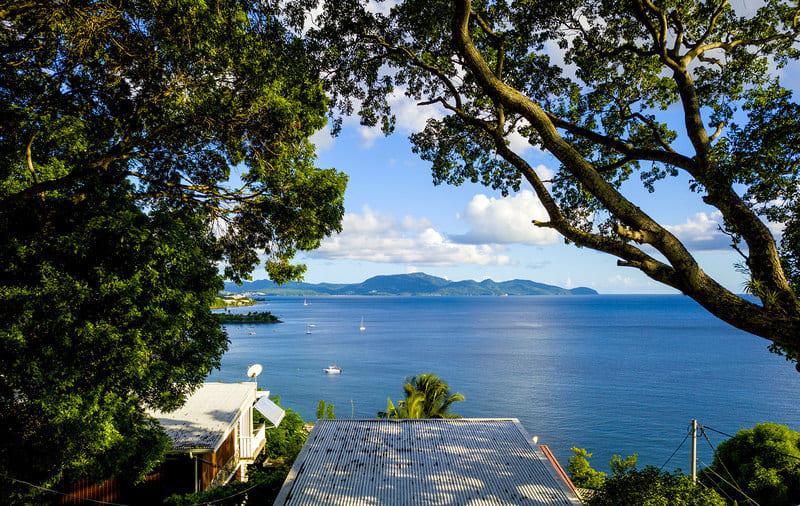 Location T3 Schoelcher Martinique Vue Mer Spa Vue