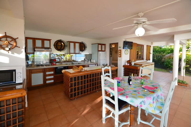 Location T3 Schoelcher Martinique Vue Mer Terrasse Sam