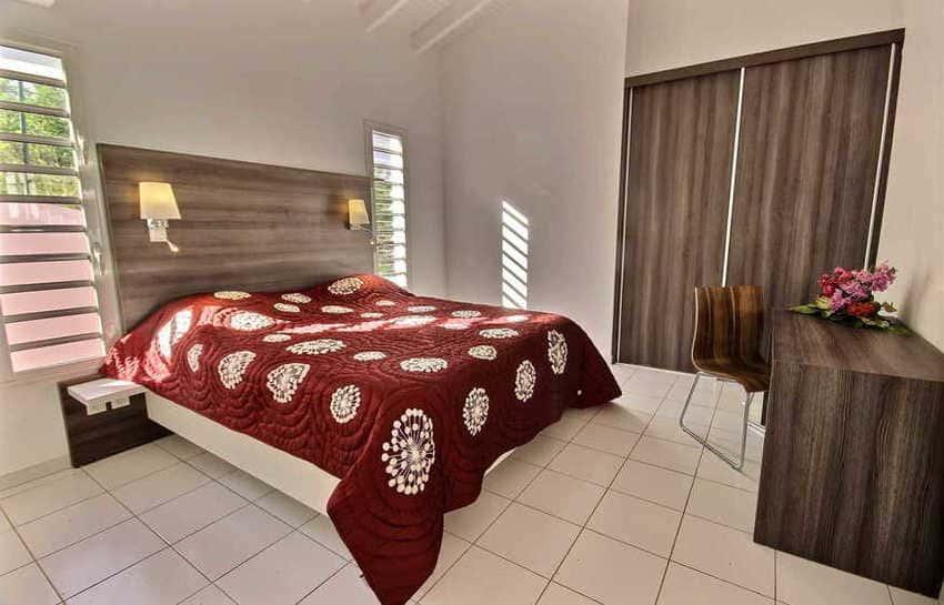 Location Villa Avec Piscine Cap Macre Martinique Chambre 1