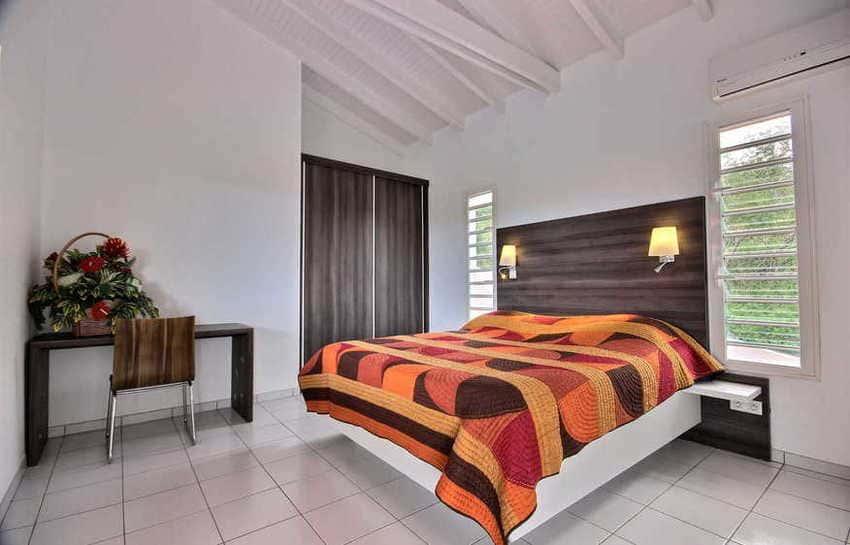 Location Villa Avec Piscine Cap Macre Martinique Chambre 2