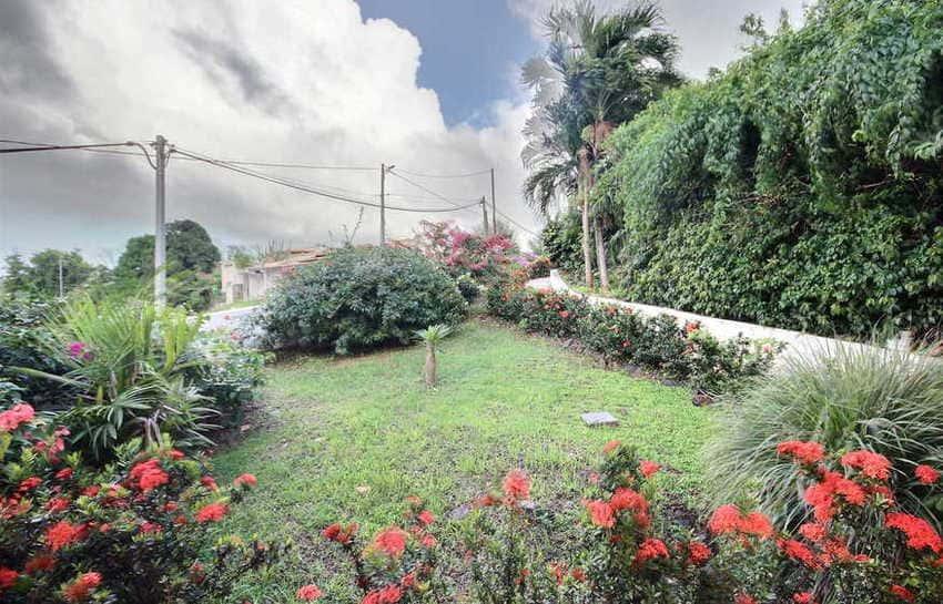 Location Villa Avec Piscine Cap Macre Martinique Jardin Fleuri