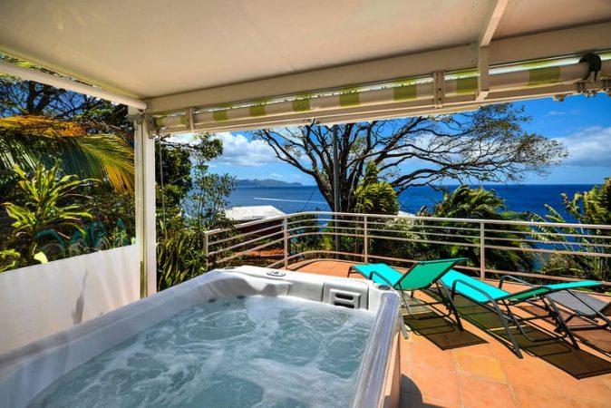 Marina Lido Spa Location T3 Schoelcher Martinique Vue Mer Terrasse Sam