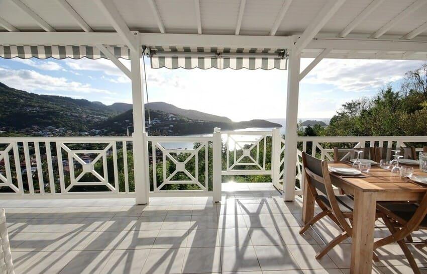 Martinique Trois Ilets Villa Anse Bleue Acces Terrasse