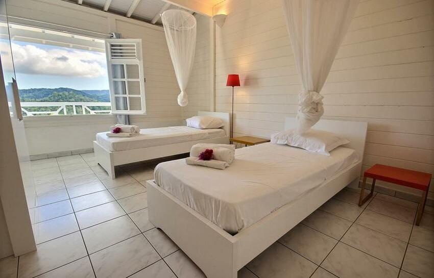 Martinique Trois Ilets Villa Anse Bleue Chambre Double 1