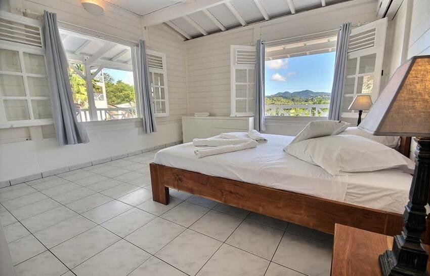 Martinique Trois Ilets Villa Anse Bleue Chambre Double 2 1