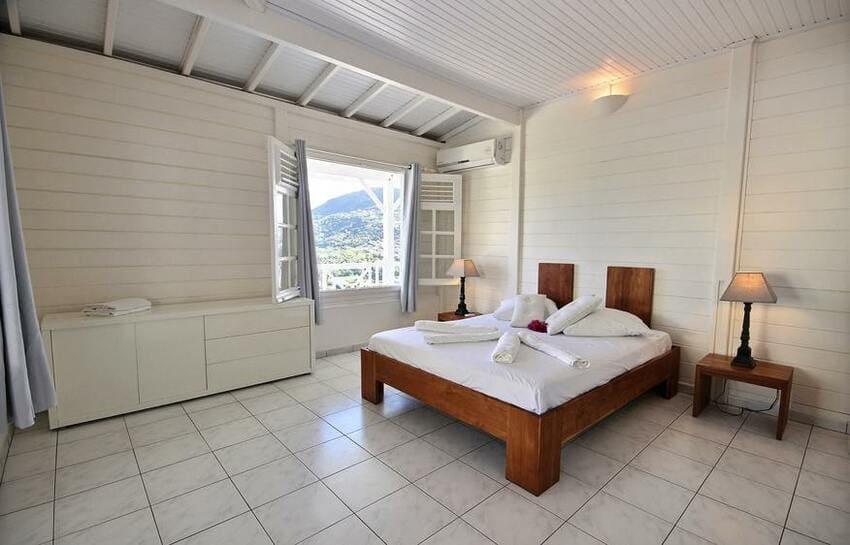Martinique Trois Ilets Villa Anse Bleue Chambre Double 2