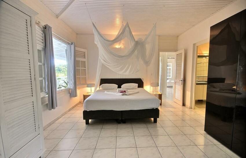 Martinique Trois Ilets Villa Anse Bleue Salle De Bain Parentale