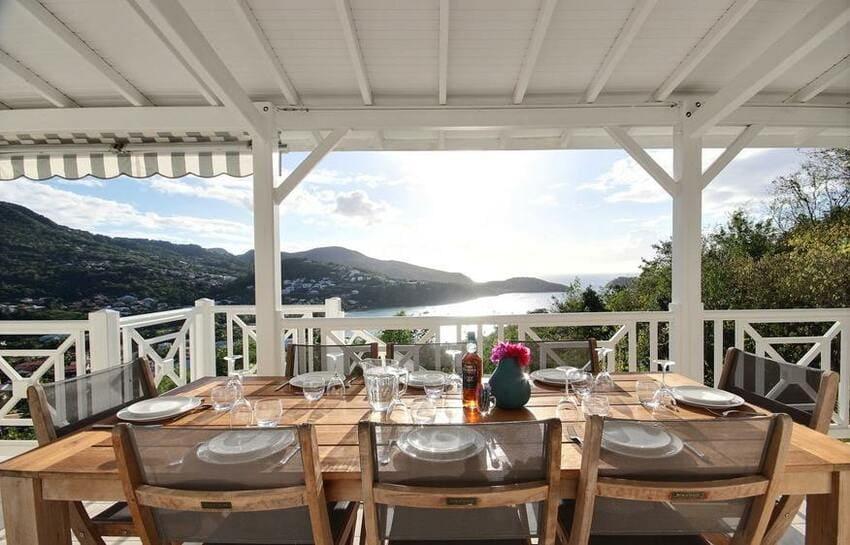 Martinique Trois Ilets Villa Anse Bleue Table A Manger