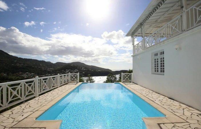 Martinique Trois Ilets Villa Anse Bleue Terrasse Piscine