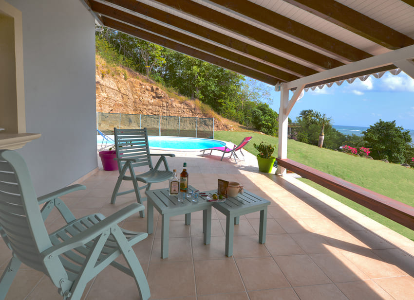 Villa Pinsonnelle Terrasse