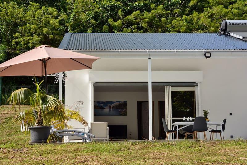 Villa Facade Petite Riviere Sud Martinique Riviere Salee