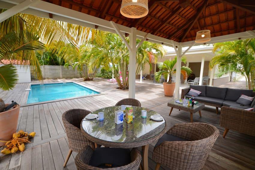 Villa L Oasis Martinique Carbet Piscine