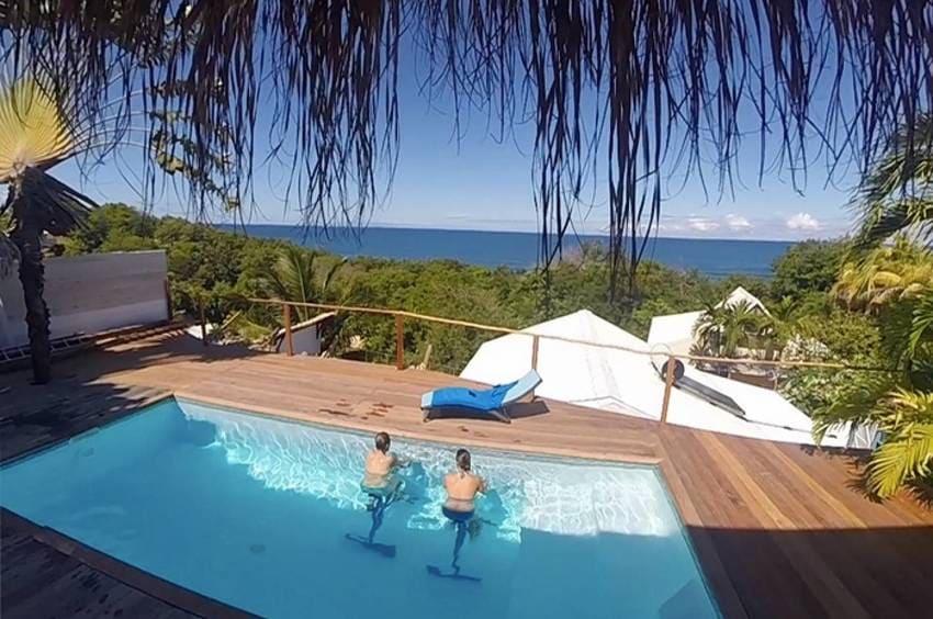 Vure Turquoise Panorama