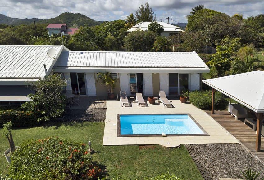 Location Martinique Villa Drone Fleur De Lune