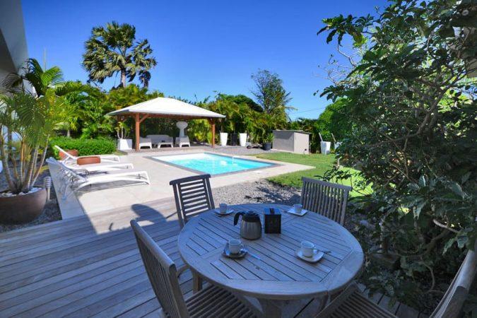 Location Martinique Villa Fleur De Lune Terrasse