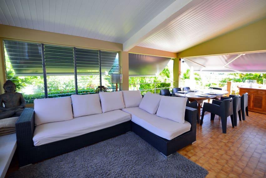 Location Martinique Villa Piscine Canape
