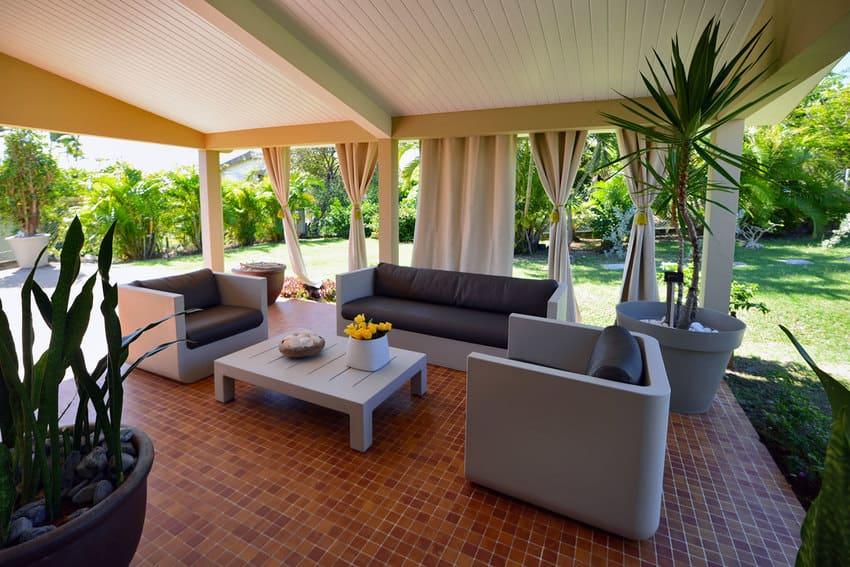 Location Martinique Villa Salon Terrasse