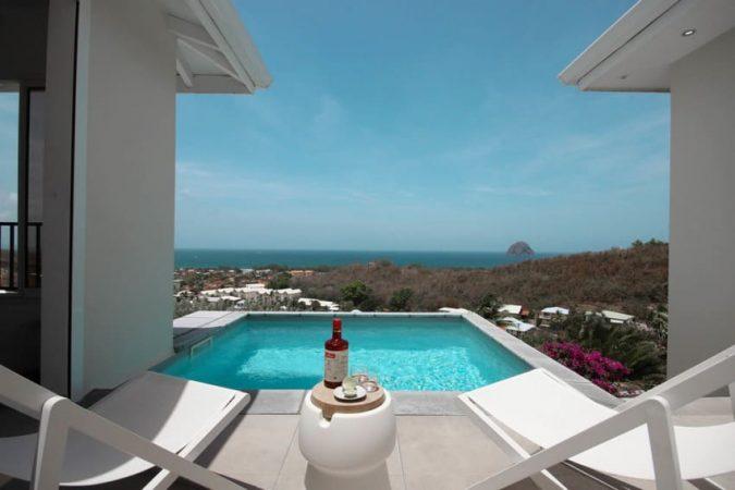 Location Villa Martinique Le Diamant Agape Piscine