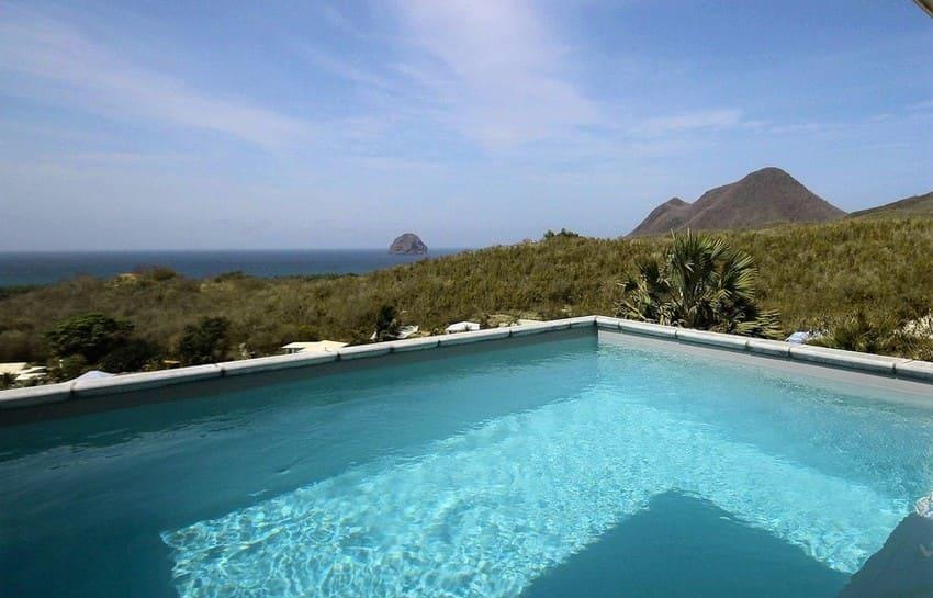 Location Villa Martinique Le Diamant Agape Piscine Vue