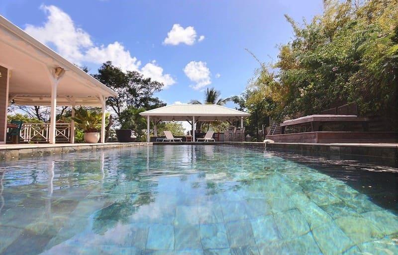Location Villa Martinique Neivy Piscine Reflet