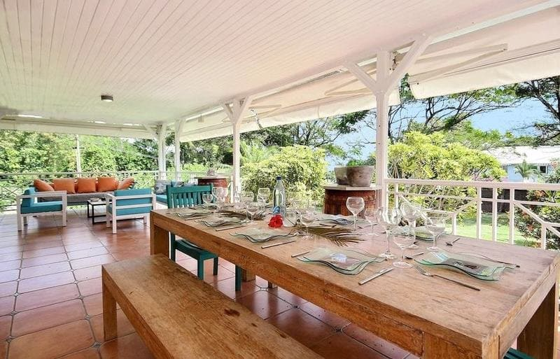 Location Villa Martinique Neivy Table A Manger 2 Min