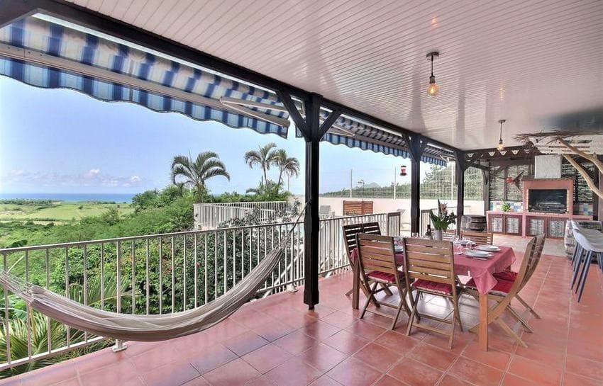 Location Villa Martinique Riviere Salee Carib Turquoise Hamac Min