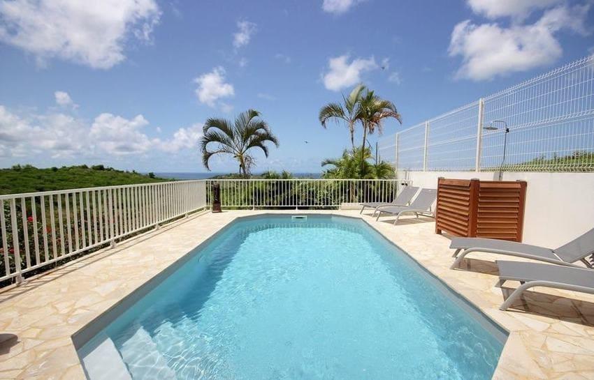 Location Villa Martinique Riviere Salee Carib Turquoise Piscine 1 Min