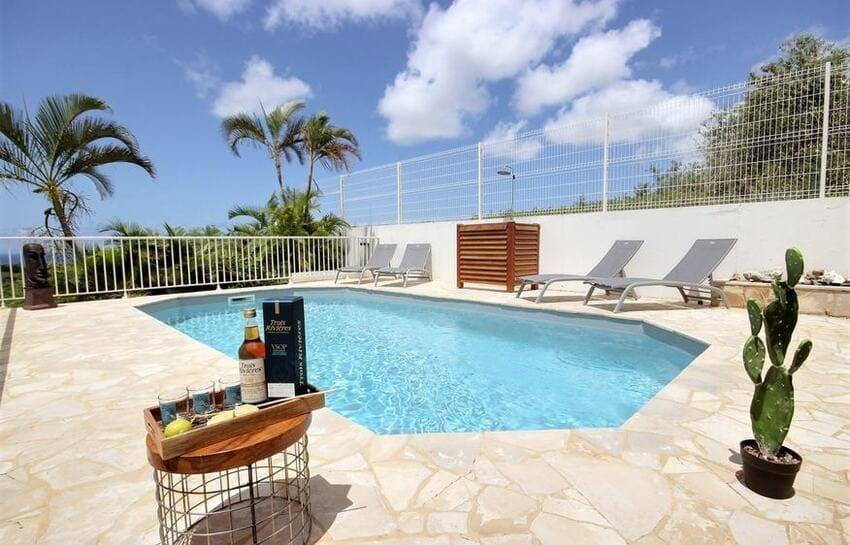 Location Villa Martinique Riviere Salee Carib Turquoise Piscine 3 Min