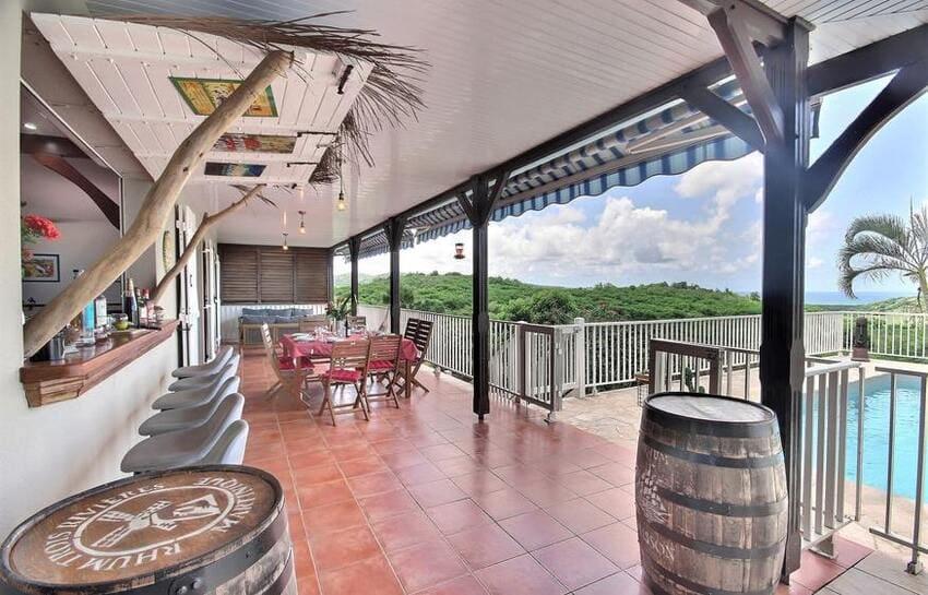 Location Villa Martinique Riviere Salee Carib Turquoise Terrasse Ensemble Min