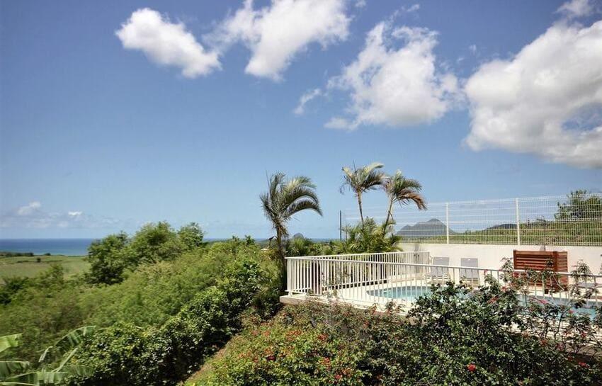 Location Villa Martinique Riviere Salee Carib Turquoise Vue Diamant Min