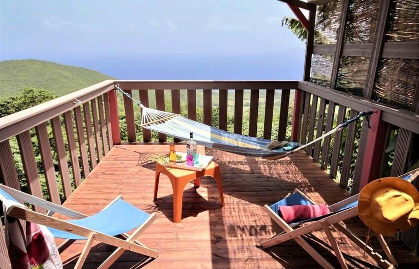 Martinique Cottage L Inka Terrasse Balcon 2
