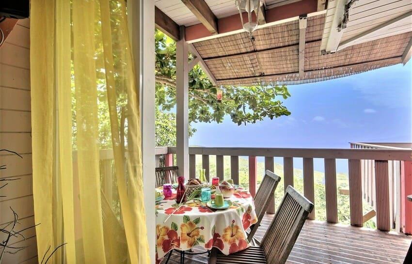 Martinique Cottage L Inka Balcon